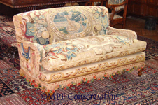 FLEMISH SOFA HEARST CASTLE
