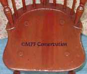 paintd windsor chair