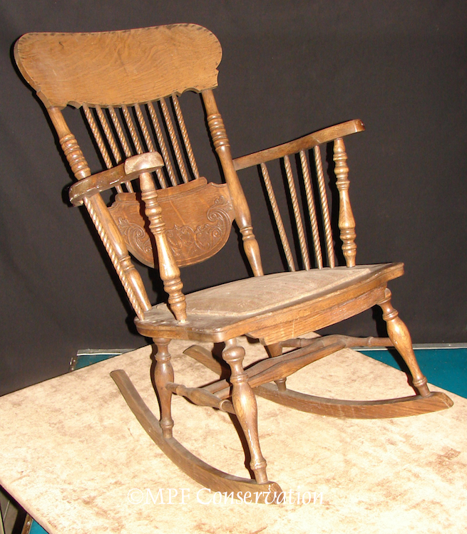 Chairs Rockers Footstools Upholstery Antique Restoration ...
