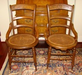 Eastlake Cane Chairs