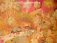 French Tapestry Conservation Restoration